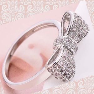 Jewelry - 🌸Sterling 925 Silver Bow Ring